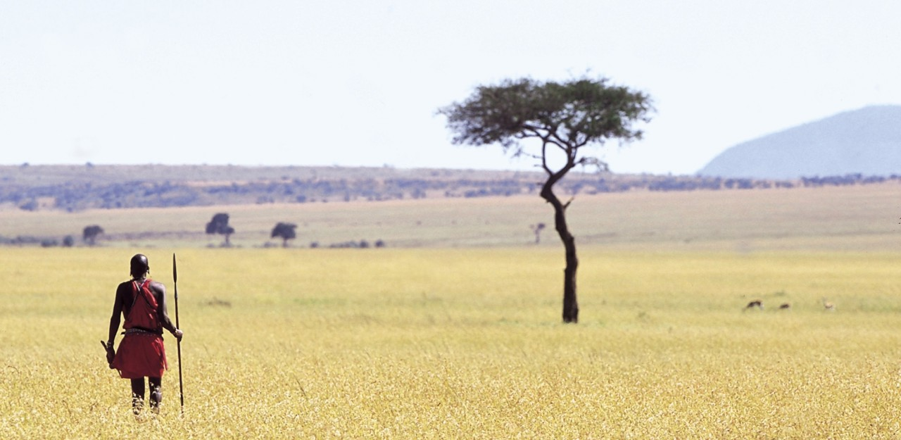 Quintessential Masai Mara landscape - on safari at Elephant Pepper camp