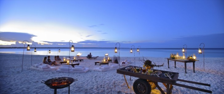 AndBeyond Mnemba Island - an exclusive secluded Zanzibar luxury resort just off the northeastern tip of Zanzibar main island