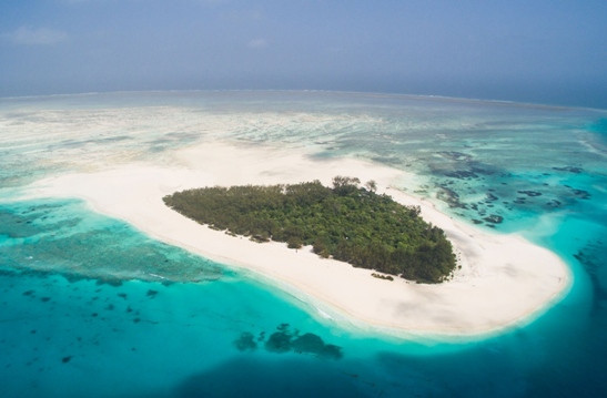 Mnemba Island, boasting splendid beaches and spectacular coral reefs, is renowned as the ultimate in 'barefoot luxury'