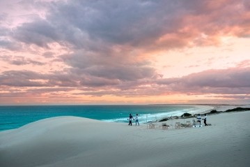 Blissful isolation on a splendid beach at Morukuru Ocean House in De Hoop Nature Reserve Cape Whale Coast South Africa
